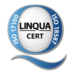 LinquaCert Zertifizierung ISO 18587