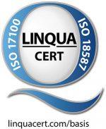 LinquaCert-Zertifizierungen ISO 17100 und ISO 18587 Basis